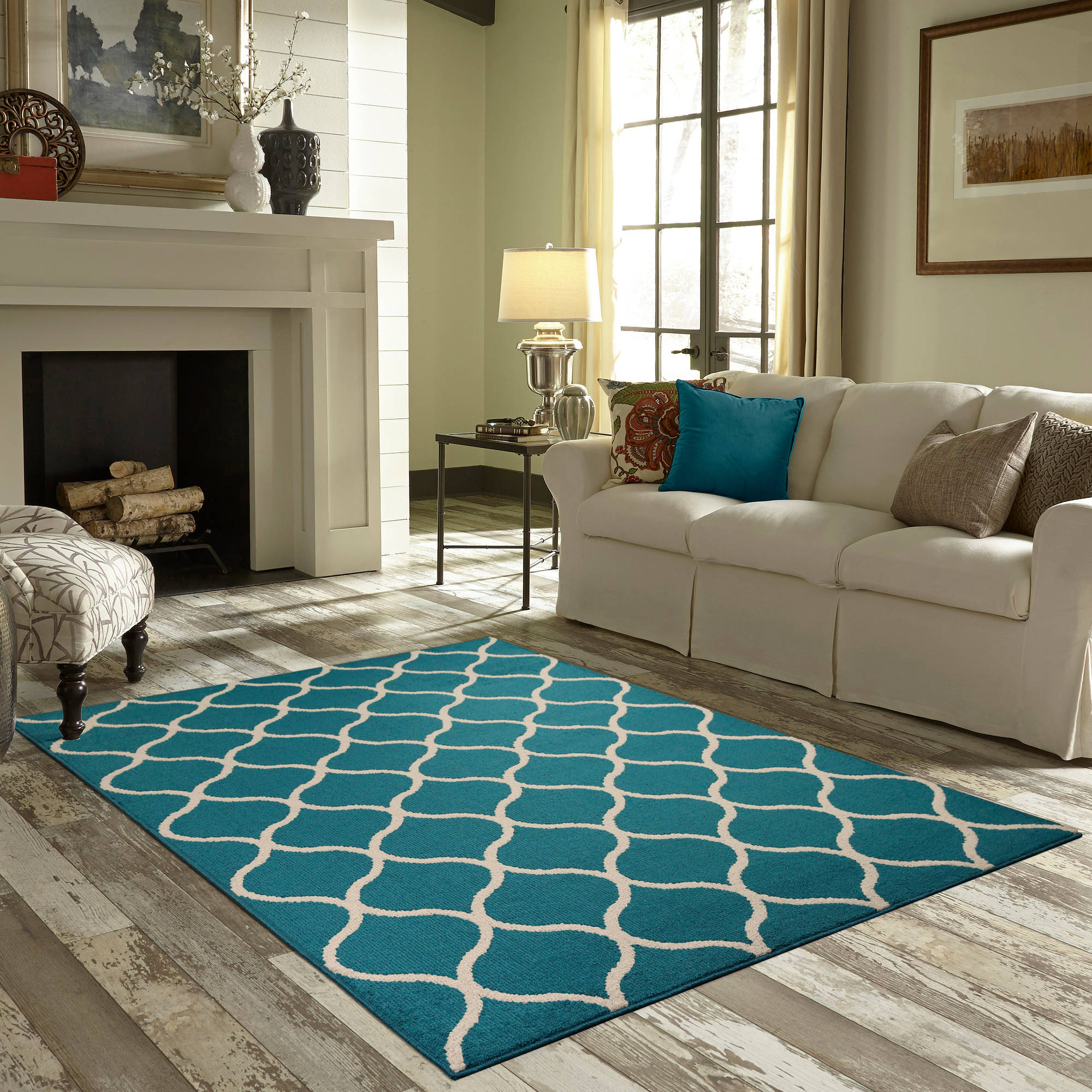 d zm rectangular denim turquoise light rug gray surya orsay ivory product area