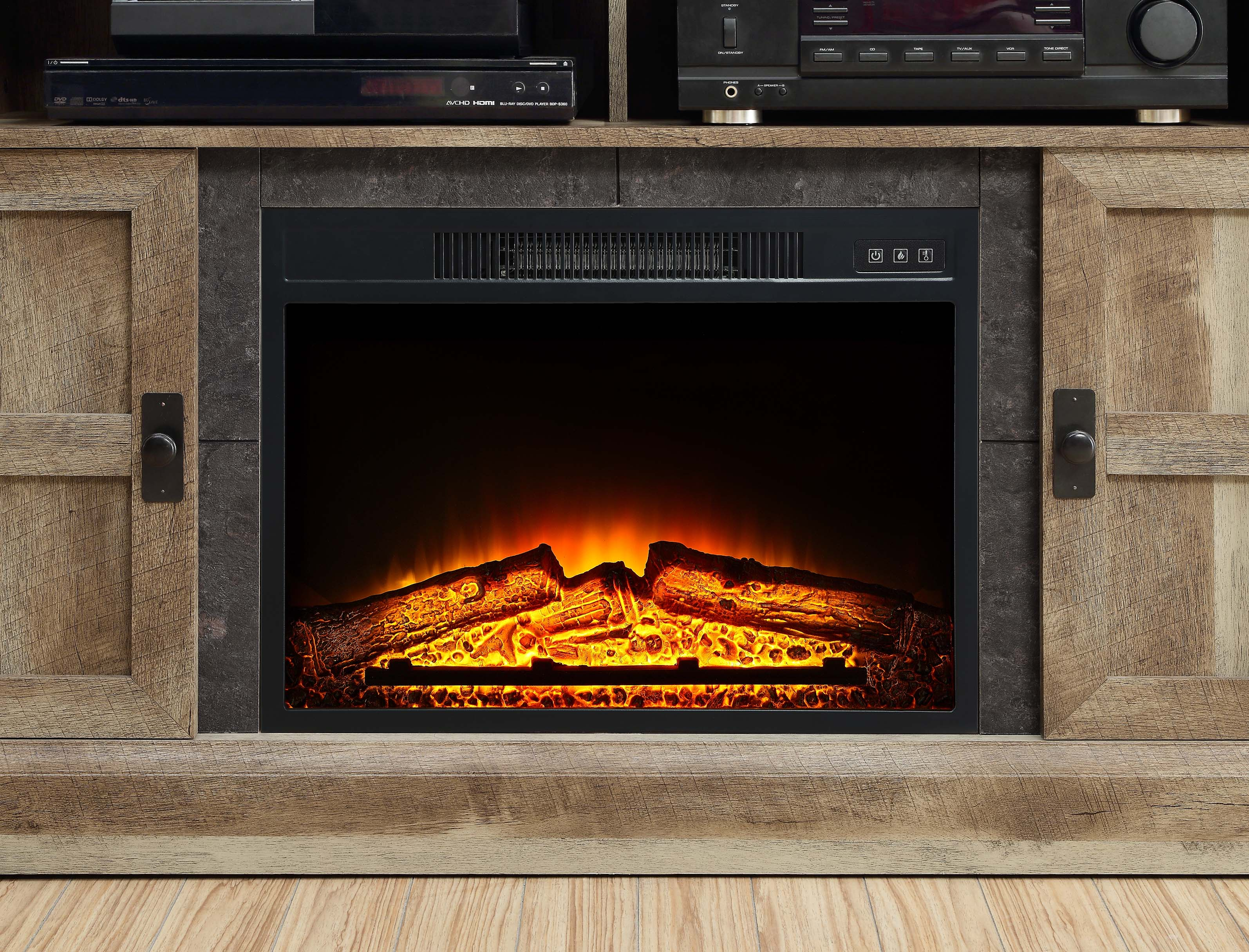 Whalen Media Fireplace Console For Tvs Fireplaces