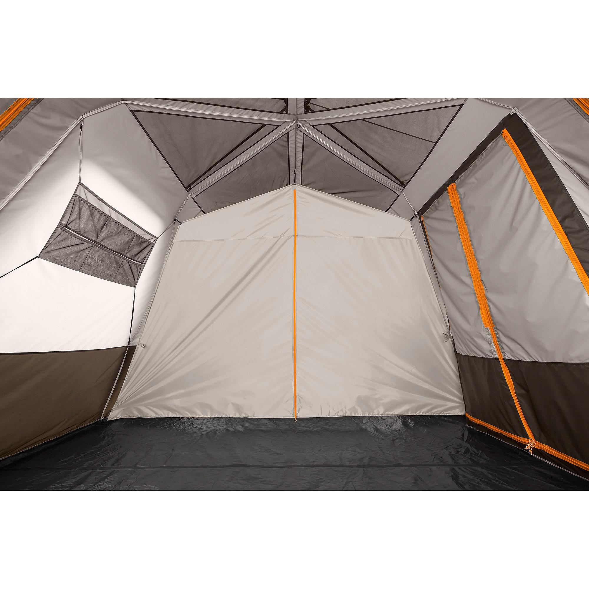 12 Person Instant Tent : Bushnell shield series person room instant cabin tent