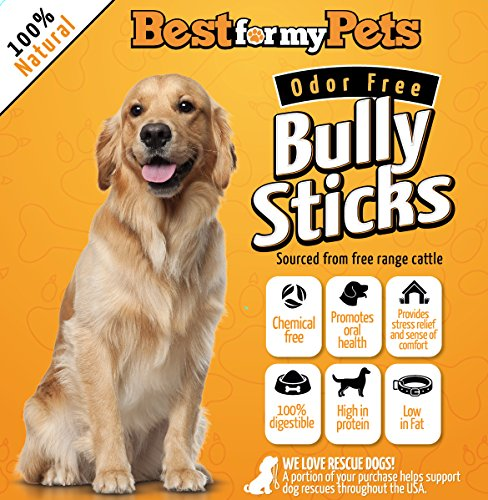 best natural bully sticks odor free hand inspected usda fda a. Black Bedroom Furniture Sets. Home Design Ideas