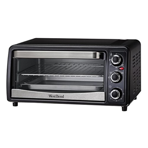 General Electric Countertop Convection Oven : West Bend 74107 West Bend Convection Toaster Oven, Black