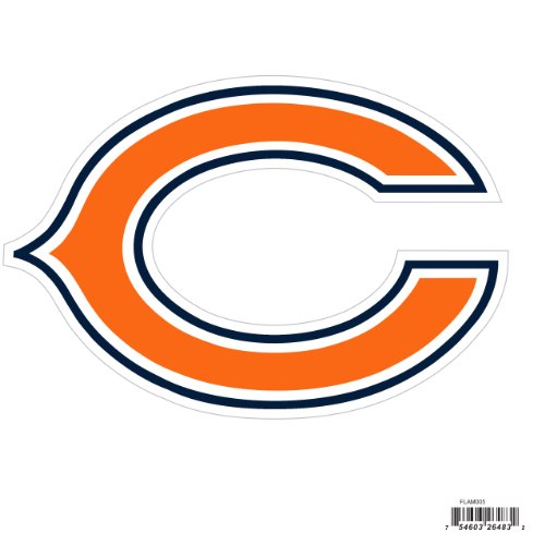 Nfl Chicago Bears Automotive Magnet 8 Inch