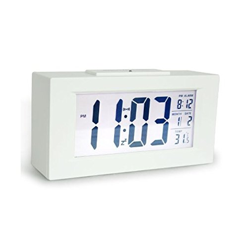 Hito 6 Smart Simple And Silent Alarm Clock W Date An