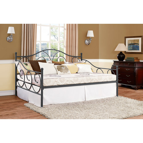 metal daybed. Beautiful Metal VictoriaFullSizeMetalDaybedMultipleColors Inside Metal Daybed B