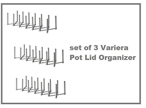 Ikea Variera Pot Lid Organizer ~ New Ikea Variera Pot Lid Organizer Stainless Steel Multi use Adju