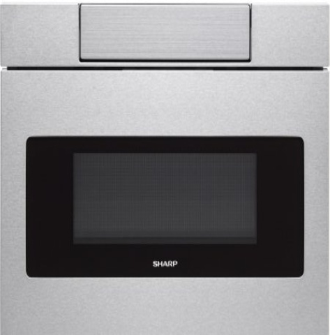 Sharp smd2470as 24 wide built in microwave drawer with digi for Built in microwave 24 inches wide