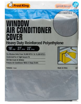 Thermwell ac3h window air conditioner cover 18 by 27 inch for 18 inch window air conditioner