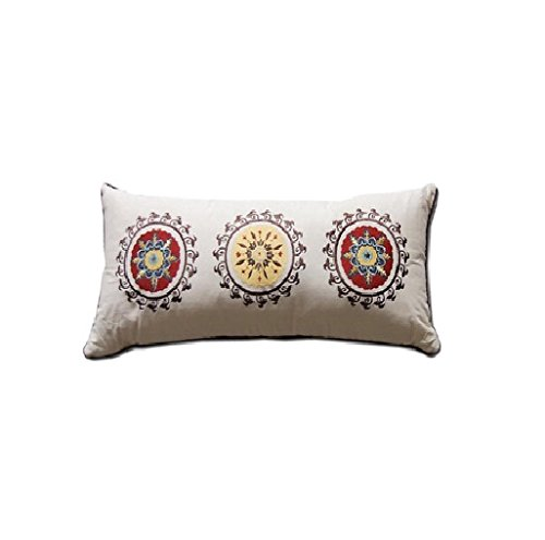 Decorative Pillow Rolls : Greenland Home Andorra Decorative Neck Roll Pillow