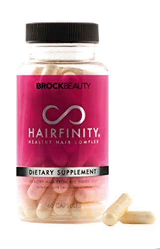 hairfinity healthy hair vitamins supplements 60 capsules 640 bibliography ...