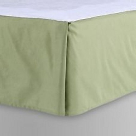 Sage Green Bed Skirt 5
