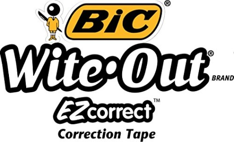 bic wite out ez correct instructions