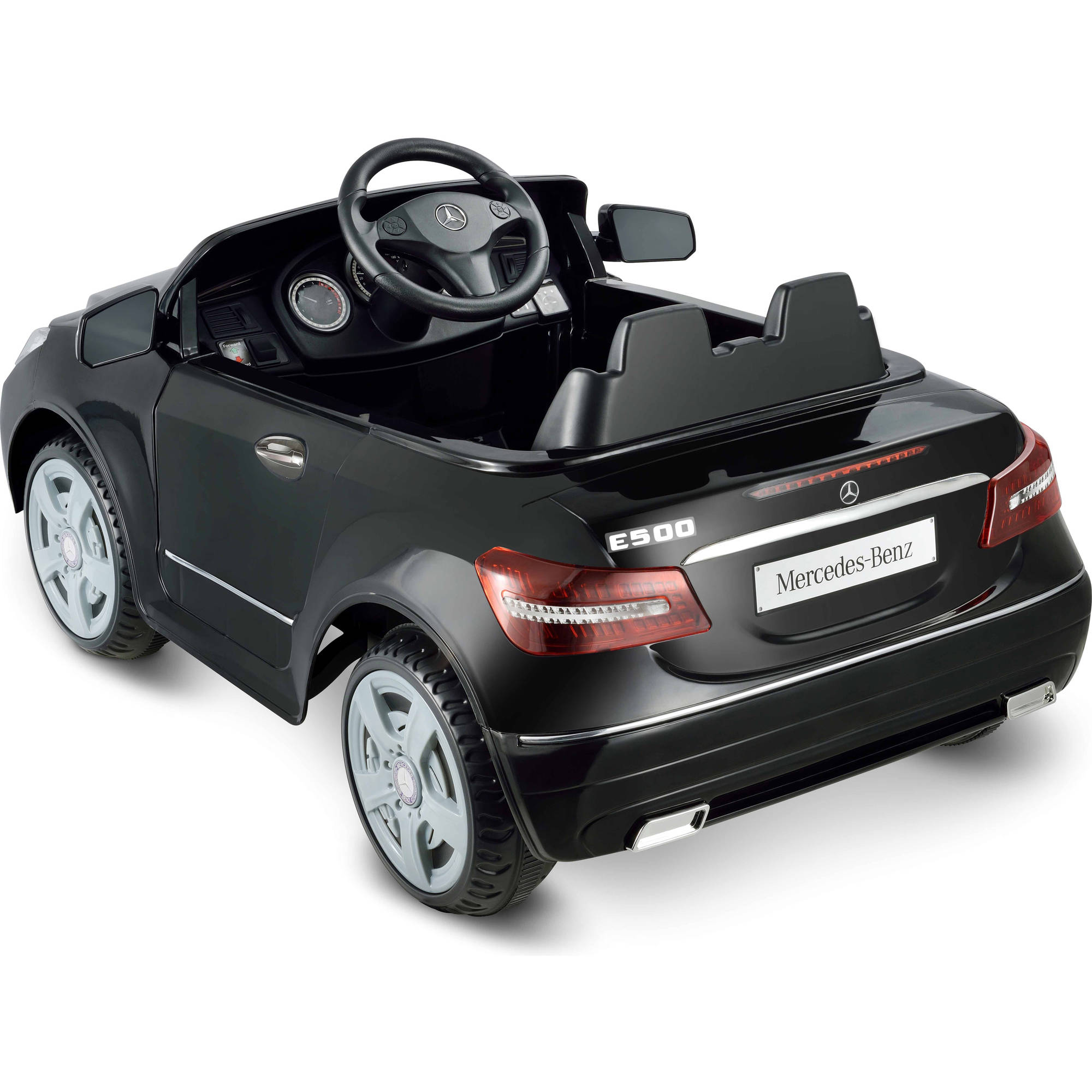 Kid motorz one seater mercedes benz e550 6 volt battery for Mercedes benz kids car