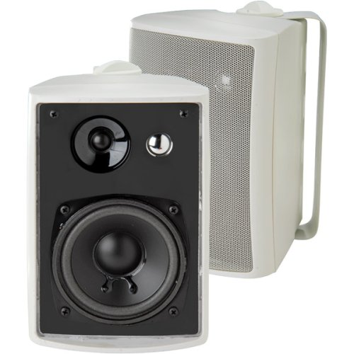 Dual LU43PW Indoor Outdoor Speakers White