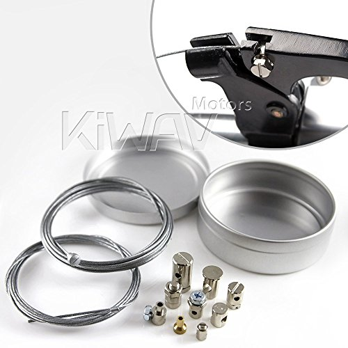 Universal Throttle Cable Kit 40 : Universal throttle clutch cable repair kit motorcycle
