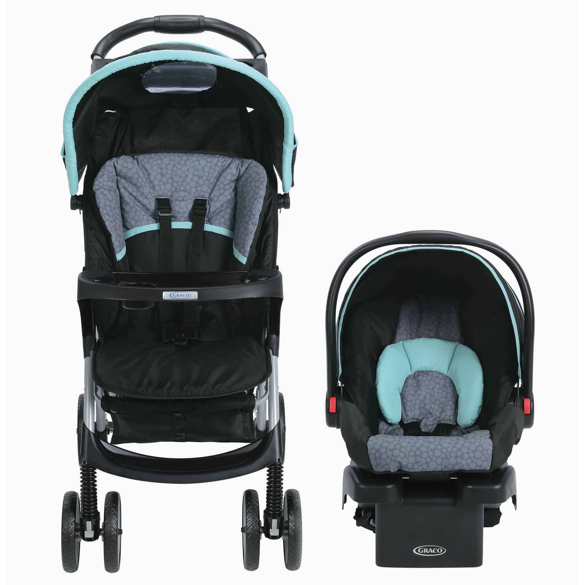 Graco Literider Click Connect Travel System Car Seat And
