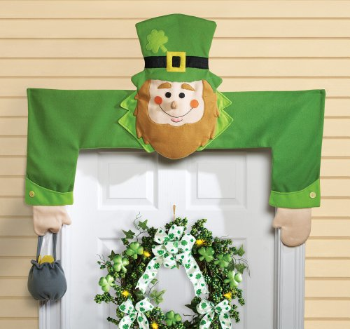 leprechaun door hugger st patrick 39 s day decoration