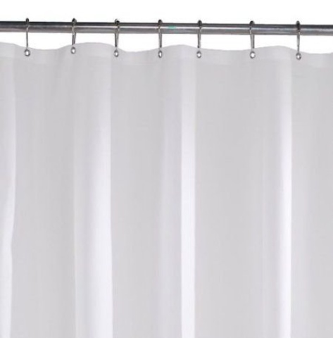 Shower Curtain Liner Peva Antimicrobial Pvc Free Shower Curtain