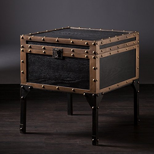 Dontos Industrial Kitchen Cart Southern Enterprises: Southern Enterprises Dalton Travel Trunk End Table