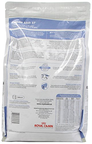 royal canin dry cat food indoor adult 27 formula 7 pound bag. Black Bedroom Furniture Sets. Home Design Ideas