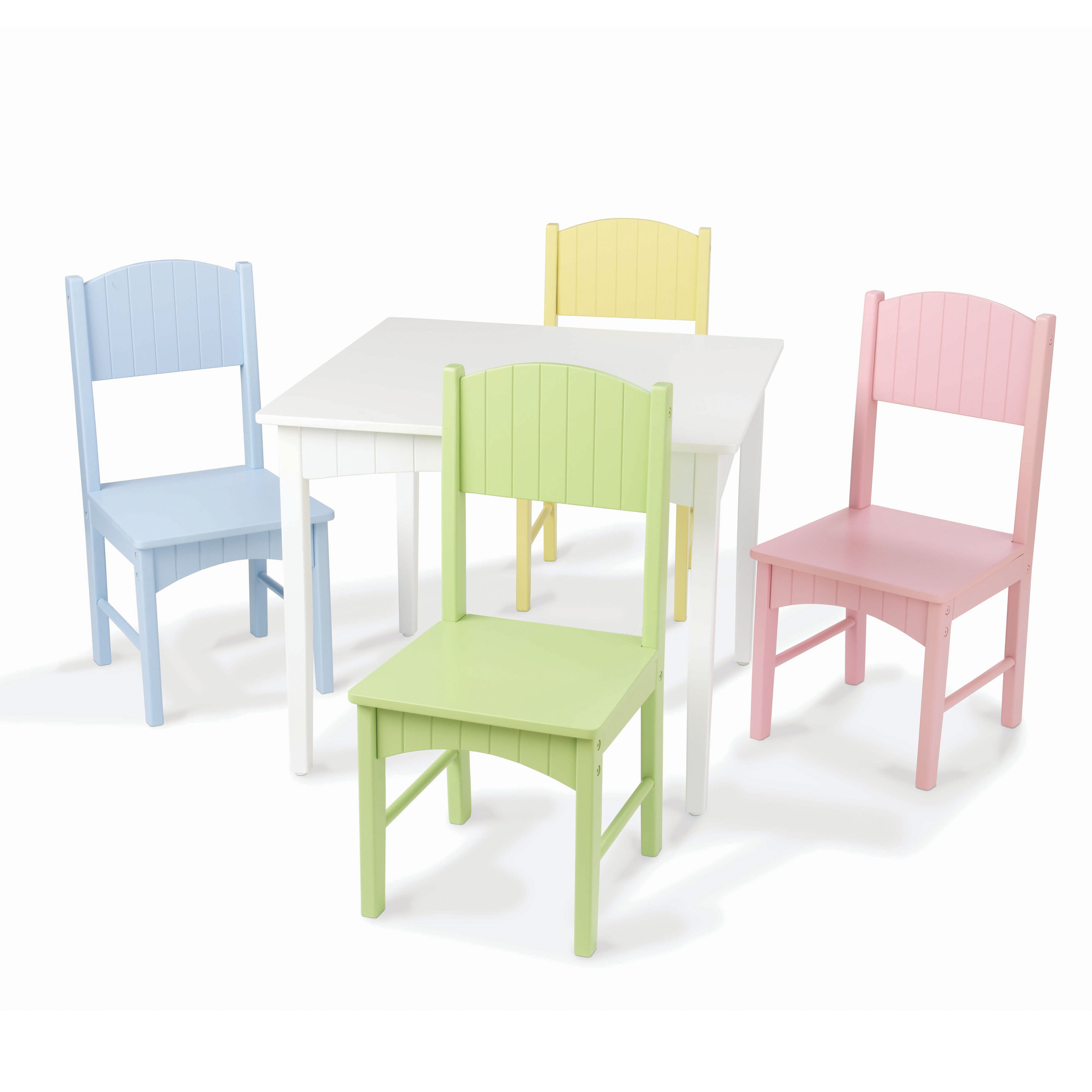 Image Is Loading KidKraft Nantucket Pastel Table And Chair Set 26101
