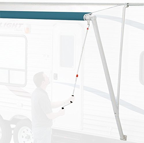 Carefree 850001 White Pioneer Crank-Out RV Awning Upgrade