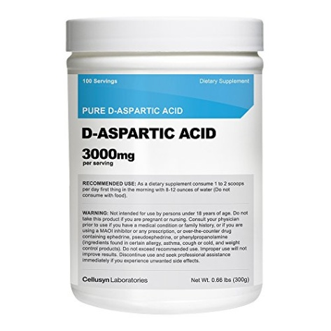 D Aspartic Acid Before And After Cellusyn D-Aspartic Ac...