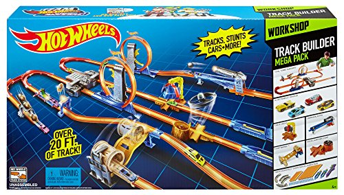 Hot Wheels Total Turbo Takeover >> Hot Wheels Track Builder System Mega Set
