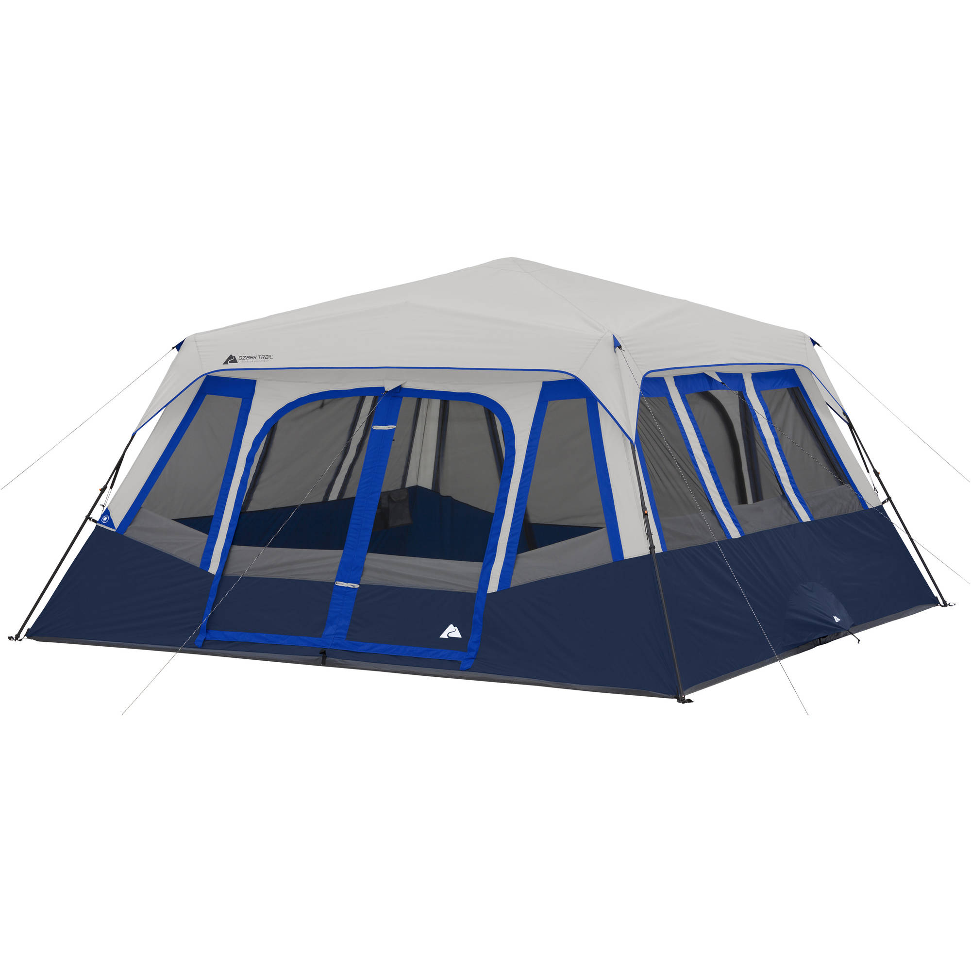 Image is loading Ozark-Trail-14-Person-2-Room-Instant-Cabin-  sc 1 st  eBay & Ozark Trail 14-Person 2 Room Instant Cabin Tent | eBay