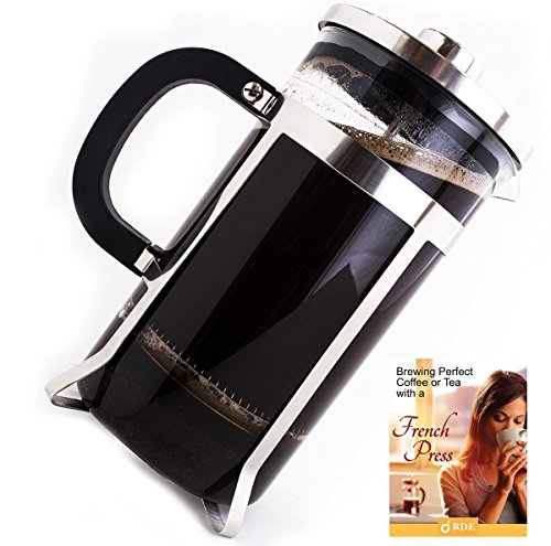 Pyora French Press Coffee and Tea Maker 34oz, 8 Cup Best Coffe