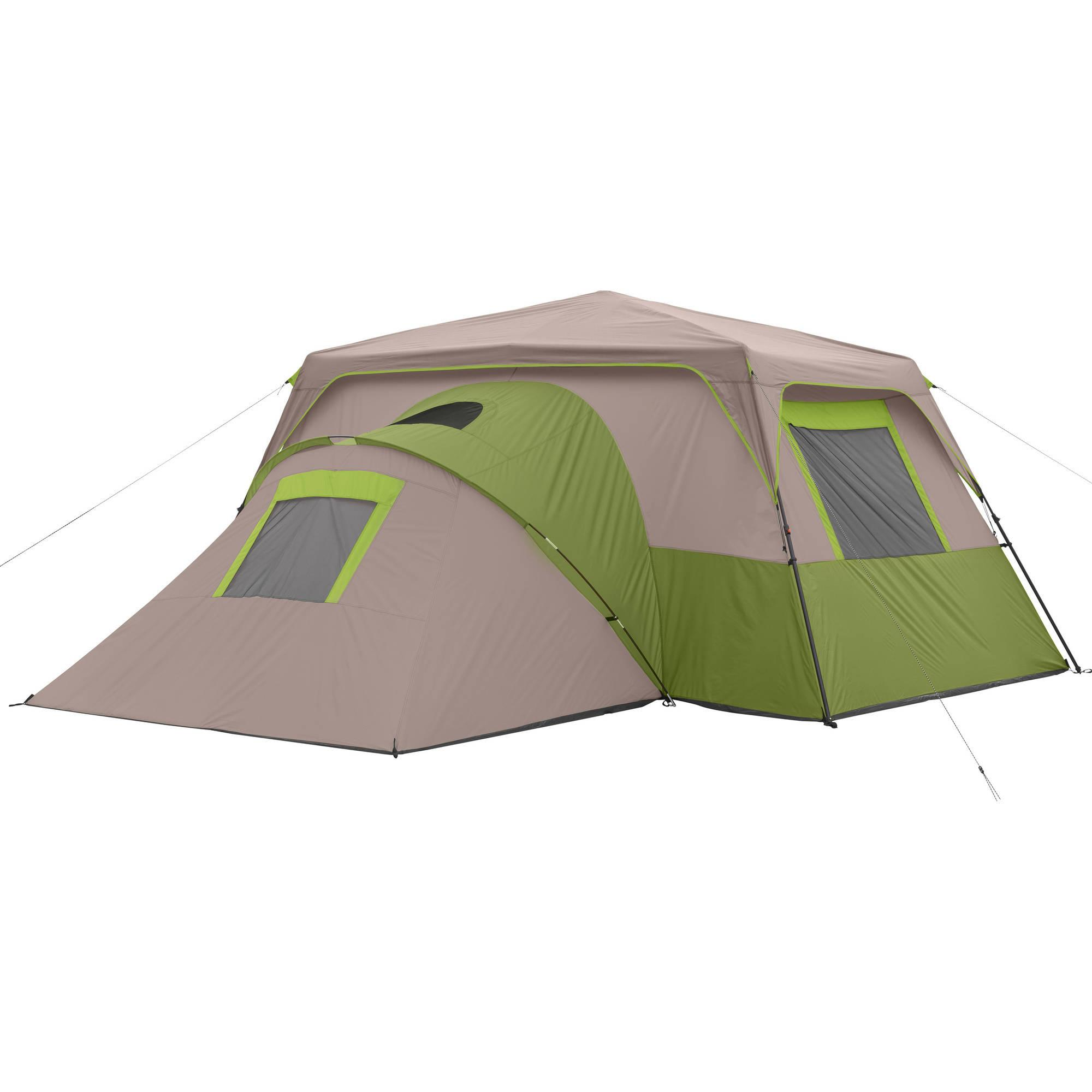 3 Room Instant Tent : Ozark trail person room instant cabin tent ebay