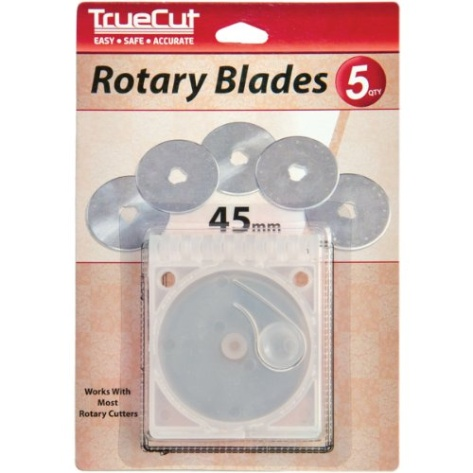 how to change a rotary cutter blade