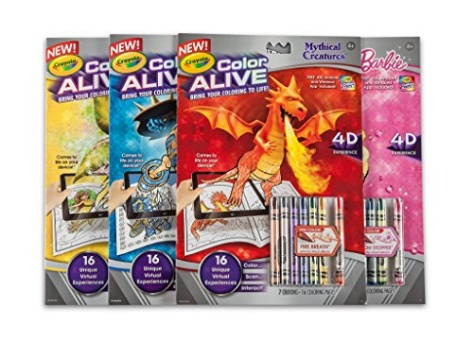 Crayola color alive action coloring pages mythical creatures for Crayola color alive coloring pages