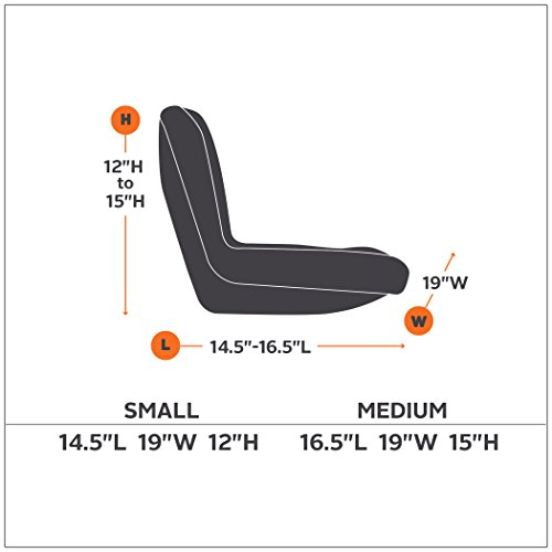 Lawn Mower Seat Trim : Classic accessories deluxe riding lawn mower seat