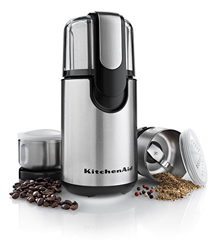 Ge Coffee Maker With Grinder : KitchenAid BCG211OB Blade Coffee and Spice Grinder Combo Pack - O
