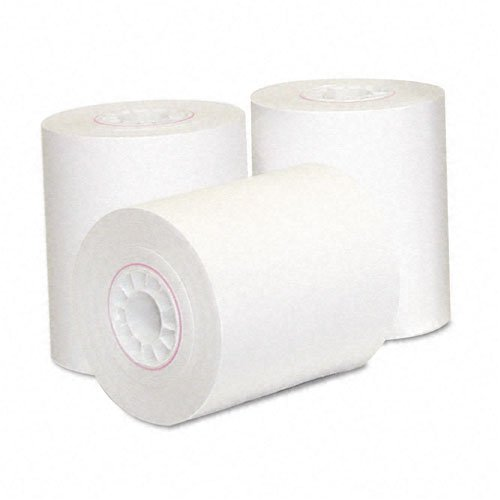 ncr thermal receipt paper inches x 165 feet roll 6 per pac. Black Bedroom Furniture Sets. Home Design Ideas
