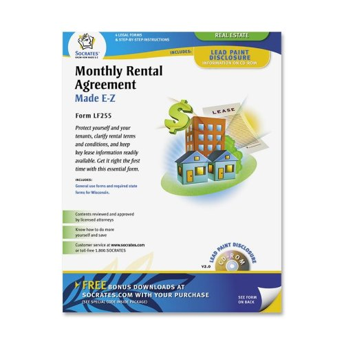 Adams Month To Month Rental Agreement Form 8 5 X 11 Inch