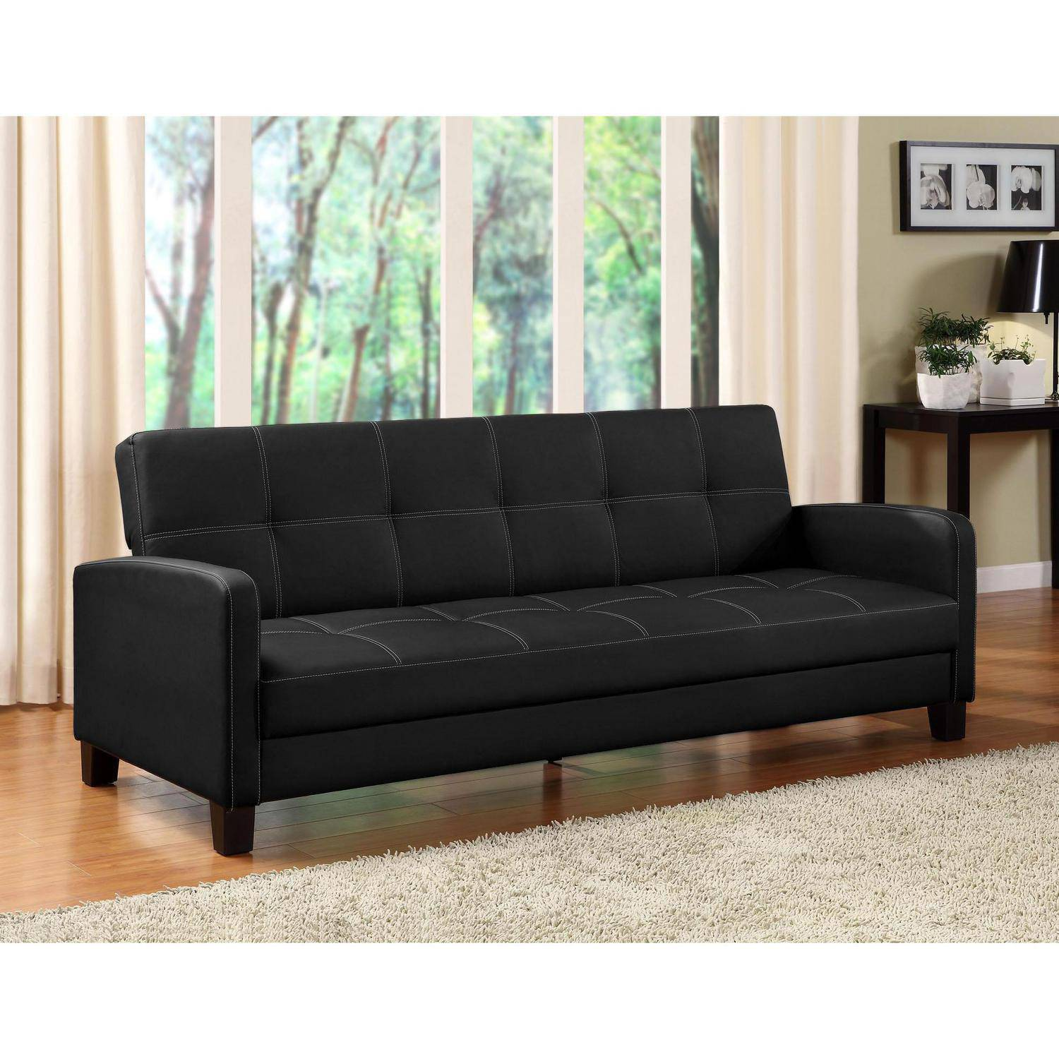 Image Is Loading DHP Delaney Sofa Sleeper Multiple Colors
