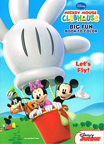 Mickey Mouse Clubhouse Coloring And Activity Book Set 3