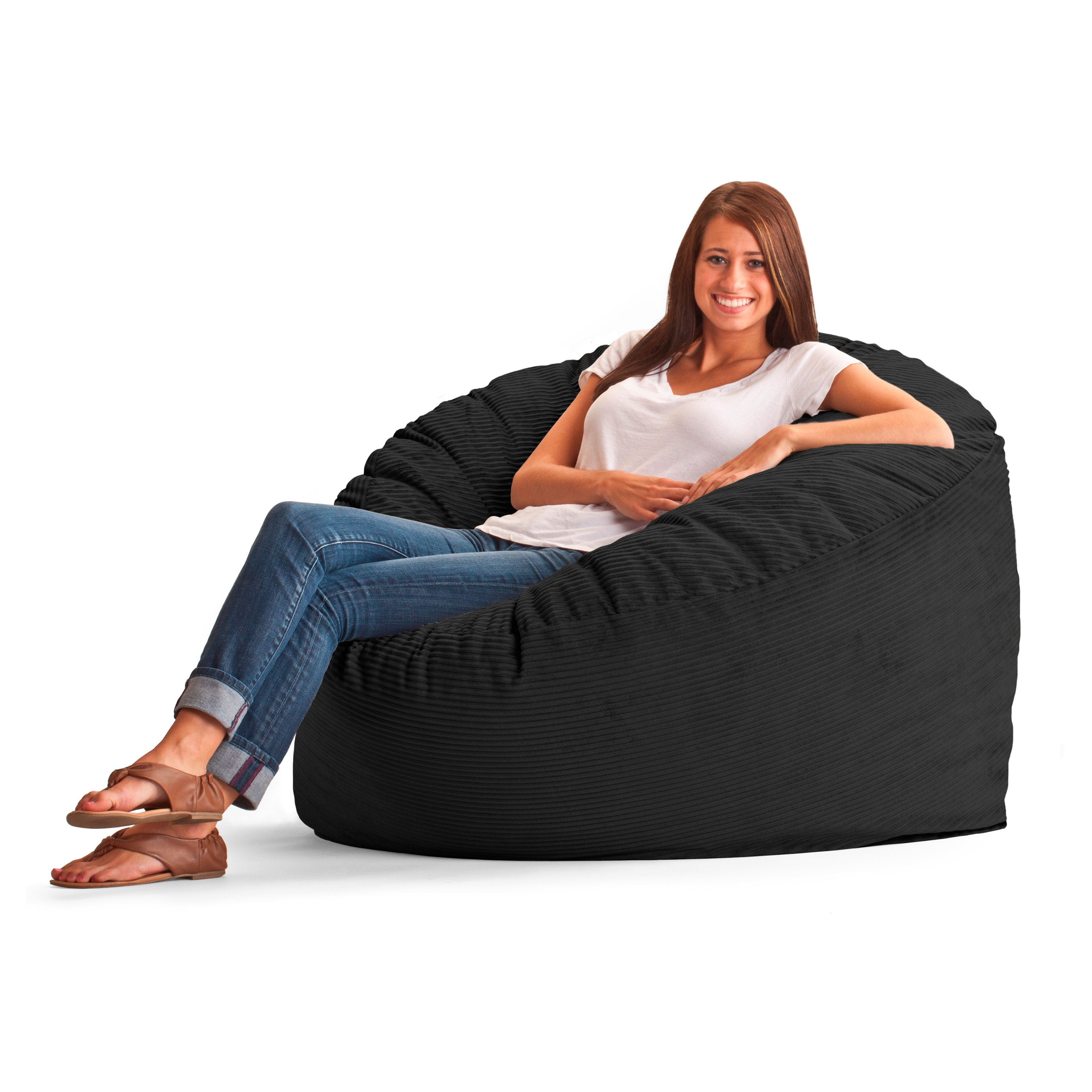 Large 4 039 Fuf Comfort Suede Bean Bag