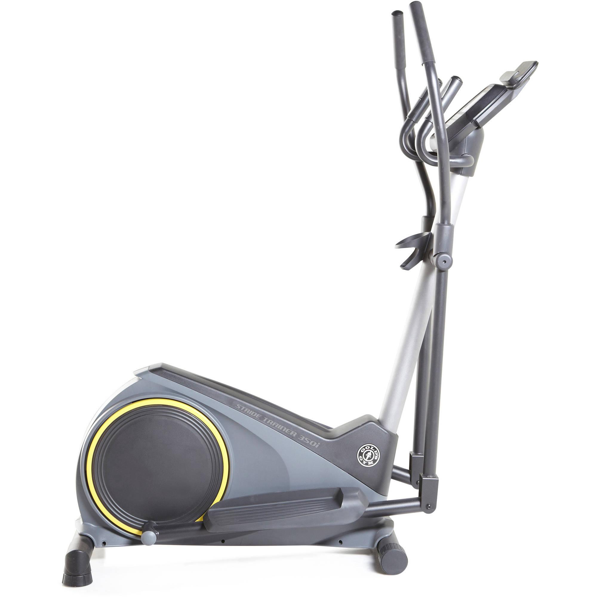 golds gym stride trainer 350i elliptical with ifit