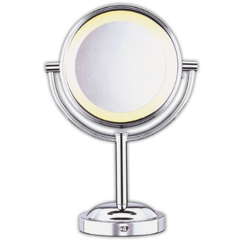 conair double sided battery operated lighted makeup mirror polis. Black Bedroom Furniture Sets. Home Design Ideas