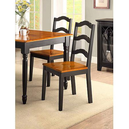 homes and gardens autumn lane 5 piece dining set black and oak ebay