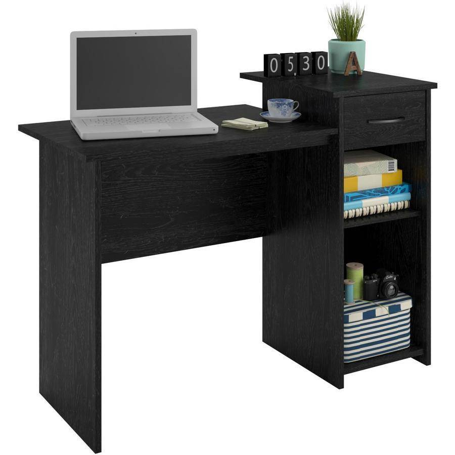 roll desk within inch to small oak spaces student home in wide glass plans top desks pertaining idea