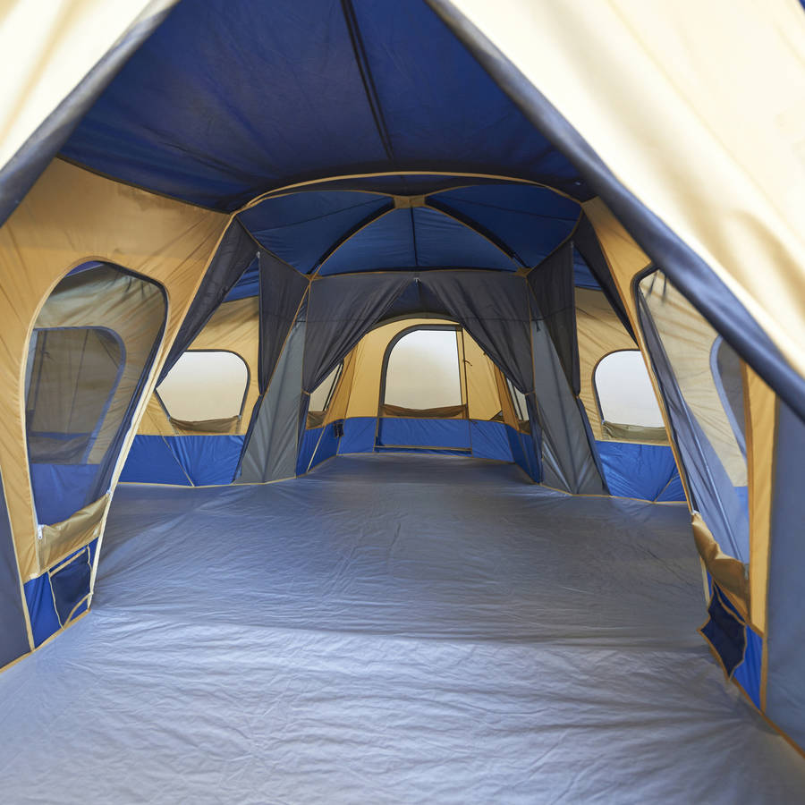 Ozark trail base camp 14 person cabin tent for What is a tent cabin