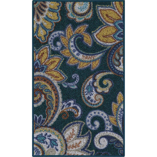 Better Homes And Gardens Paisley Berber Printed Area Rug