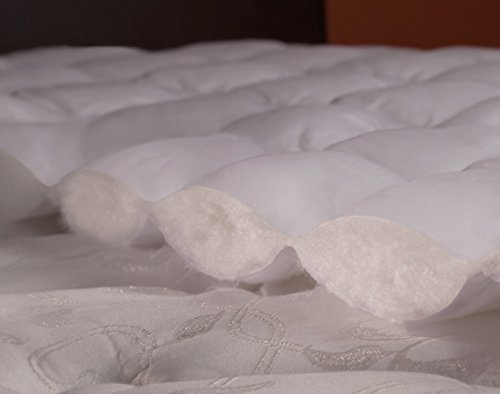 Extra Plush Rayon from Bamboo Fitted Mattress Topper