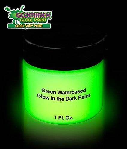 Cool Glow Glominex Glow In The Dark Green Face And Body