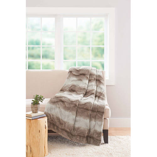 Better Homes And Gardens 50 X 60 Faux Fur Throw Ebay