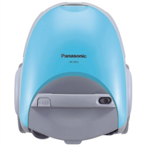 Panasonic MC-3920 Canister with 5-Stage Filtration, Aqua Blue