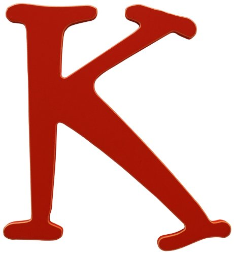 New Arrivals The Letter K, Rusty Red